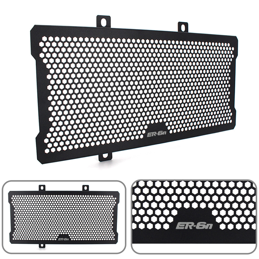 New Style Motorcycle Radiator Guard Protector Grille Grill Cover For Kawasaki Ninja ER6N ER-6N ER 6N 2012 2013 2014 2015 2016 frame slider motorcycle frame crash pads engine case sliders protector for kawasaki er 6n er6n er 6n 2012 2013 2014 2015 2016