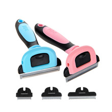 HOOPET Dog Hair Remover Cat Brush Grooming Tools Detachable Clipper Attachment Pet Trimmer Combs For Supply  Bath Comb