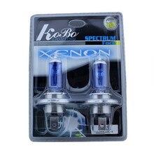 2x H4 HB2 9003 100 Вт 90 Вт 5000 К ксеноновый супер яркий белый автомобильный головной светильник, Автомобильные противотуманные лампы, автомобильный противотуманный светильник, автомобильный головной светильник, супер белый