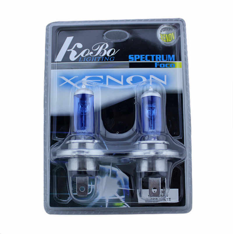 2x H4 HB2 9003 100W 90W 5000K Xenon Super Bright White Car Headlight Bulbs Car Fog Light Bulb Automobile Head Light Super White