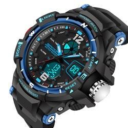 Сандалии 2018 модные детские часы студент цифровой светодиодный часы Дата сигнализации цифровые наручные часы мальчик студент Grils часов