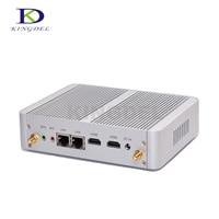 Fanless PC desktop Intel Celeron N3150 Quad Core Intel HD Graphics 4*USB 3.0 WIFI 2*HDMI Dual LAN mini PC