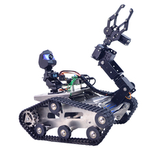 EU Programmable TH WiFi FPV Tank Robot Arm Toys Games For Arduino MEGA - Standard Version Small/Larger Claw