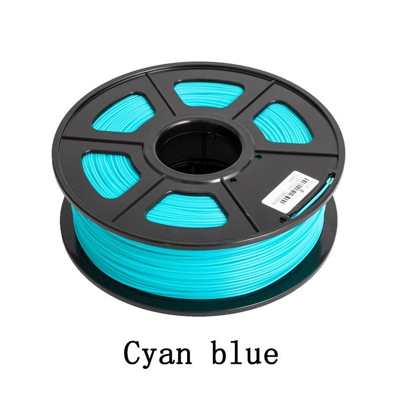 1.75mm PLA 3D Imprimante Filament 20 Couleurs Top Qualité 1 kg 3D matériel D'impression pour 3D Imprimante & 3D imprimante Stylo
