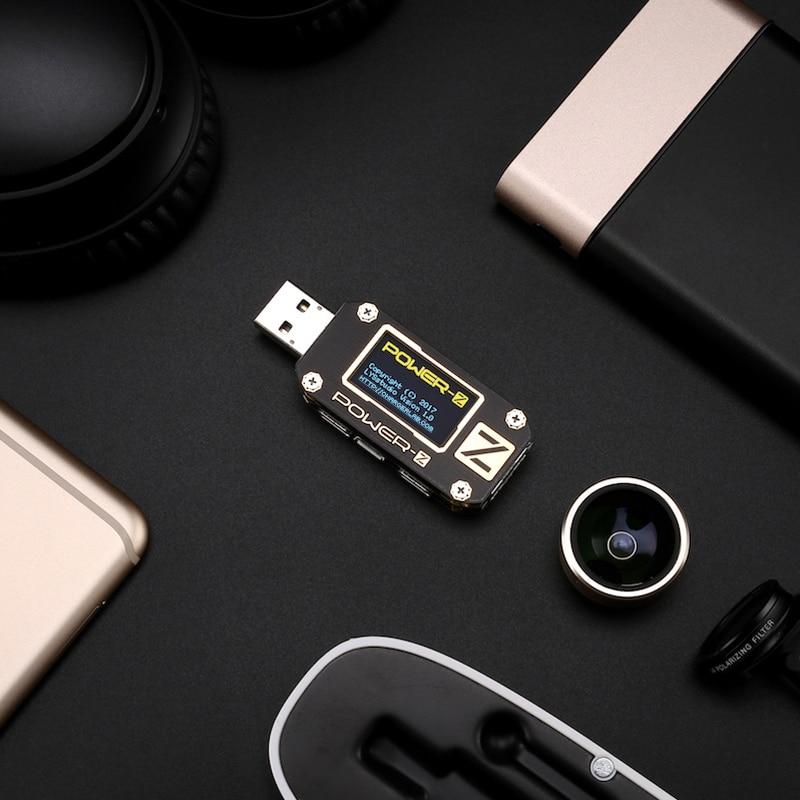 Tester USB Type-C QC2.0 / 3.0 / PD Voltmetro digitale amperimetro - Strumenti di misura - Fotografia 4