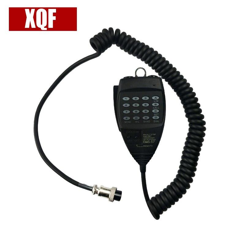 XQF DTMF Speaker Microphone EMS-57 For Alinco DR06T DR135 DR235 DR425 DR635 DR435