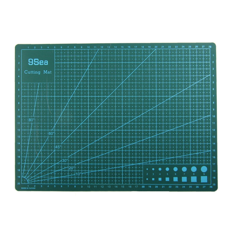 все цены на PVC A3 Self Healing Double-sided Cutting Mat Fabric Leather Paper Cutter DIY Tools Cutter Plate Healing Cutting Board онлайн