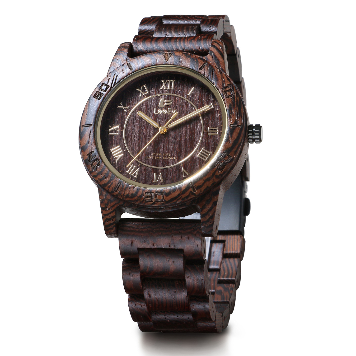 LeeEv 100% Natural Zebra Sandalwood Wristwatch Men Round Handmade Retro Style Quartz Watches Male Wooden Strap Watch New Relogio 20pcs lot max485 module rs485 module ttl turn rs 485 module mcu development accessories