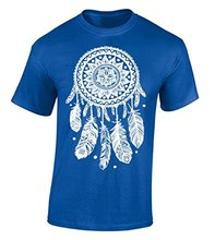 Funny T Shirt Designs MenS Broadcloth Crew Neck  Dream Catcher White Dreamer Short-Sleeve