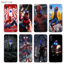 Uyellow Spiderman Marvel Soft TPU Case For Redmi S2 Note 4 5 6 7 7S 4X 5A 5P 6A 7A Y3 Xiaomi F1 8 lite 9 SE 5X 6X Cover