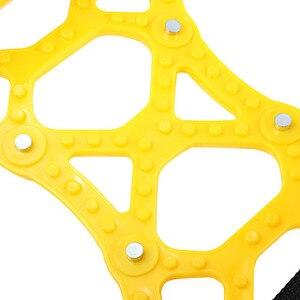Image 5 - 6 قطعة سيارة الإطارات سلاسل من الثلوج العالمي سماكة قابل للتعديل المضادة للانزلاق سلاسل السلامة مزدوجة المفاجئة زلق إطار العجلات سلاسل المسامير