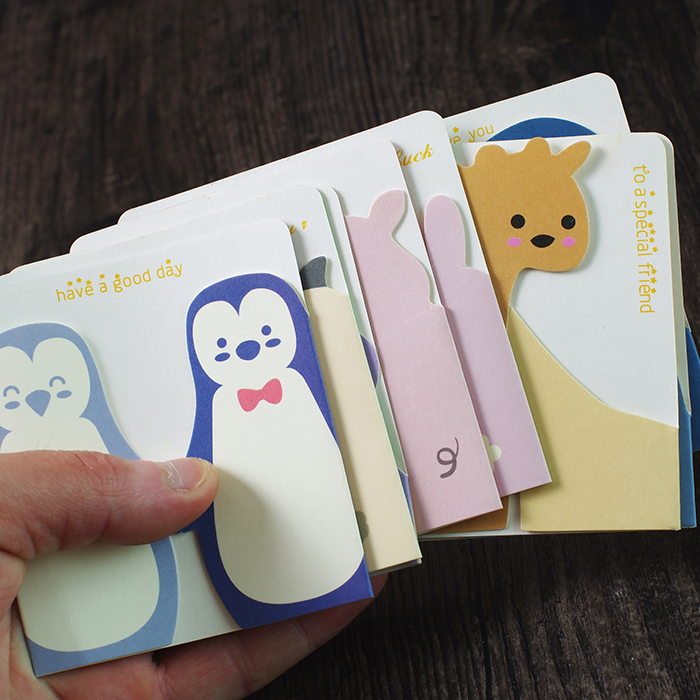 GroßZüGig 10 Teile/los Kreative Dreidimensionale Geburtstag Karten Kleine Tier Leere Grußkarten Mit Umschläge 78x87mm
