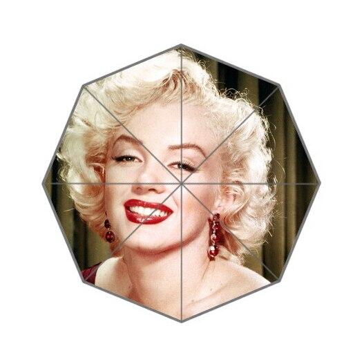 Fashion Design Umbrella Custom Sexy Marilyn Monroe Folding Umbrella For Man And Women Free Shipping UPC-079