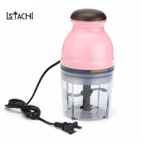 LSTACHi Mini Multifunctional Electric Meat Grinder Food Processor Baby Food Mixing Machine Fruit Vegetable Milk Shake Household