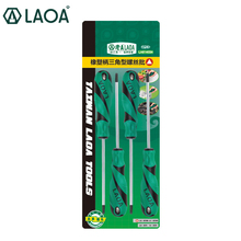 LAOA S2 Triangle screwdriver bolt driver Special triangular screw driver Rigid reach to 60HRC(China)