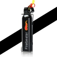 Car Use Hand held Fire Extinguisher Lightweight Portable Black Fire Extinguisher for Laboratories Hotel Drop shipping Wholesales