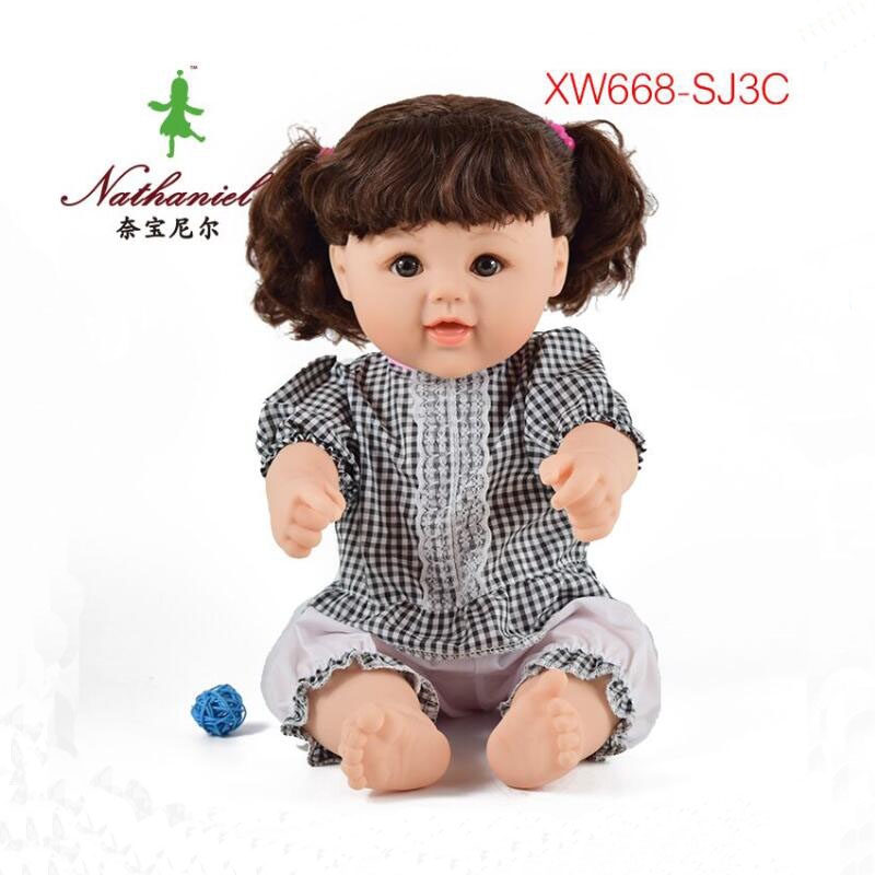 DIY doll toy gifts for kids child Christmas mannequin silicone soft wholesale plastic 3D eyes dolls factory decool nerf sticker