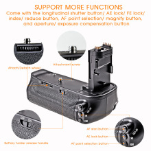 Vertical Battery Grip Holder For Canon 6D DSLR
