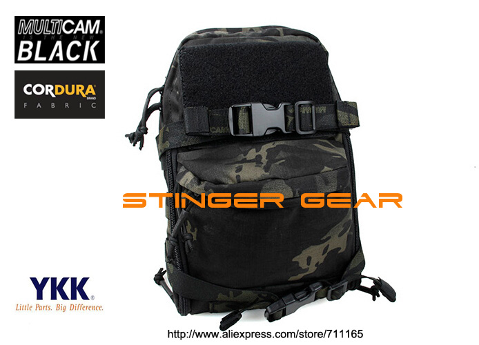 TMC Mini Hydration hunting pouch Multicam Black JPC Tactical MOLLE Hydration Pack+Free shipping(SKU12050147)