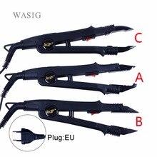 1 шт., JR-611 A/B/C наконечник, профессиональное наращивание волос, термоизоляционный Железный соединитель, палочка, инструмент для плавления железа+ Европейская розетка