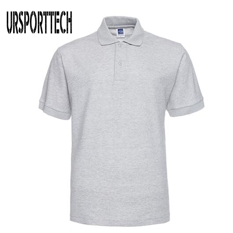 2019 Men   Polo   Shirt Brand Mens Solid Color   Polo   Shirts Camisa Masculina Men's Casual Cotton Short Sleeve   Polos   Hombre Jerseys