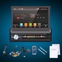 7 Android 6 0 Universal 1 Din Car Audio DVD Player Radio GPS Wifi Navigation Autoradio