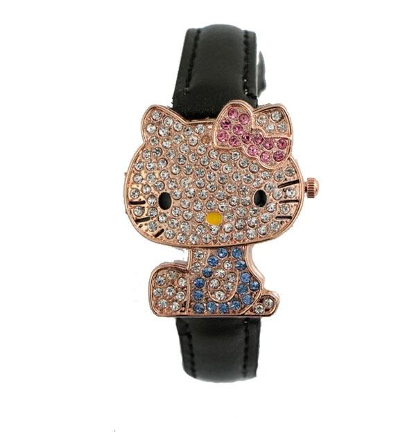 Yeni Gelmesi Güzel Hello Kitty İzle Çocuklar Kız Kadınlar Elbise - Çocuk Saatler - Fotoğraf 4
