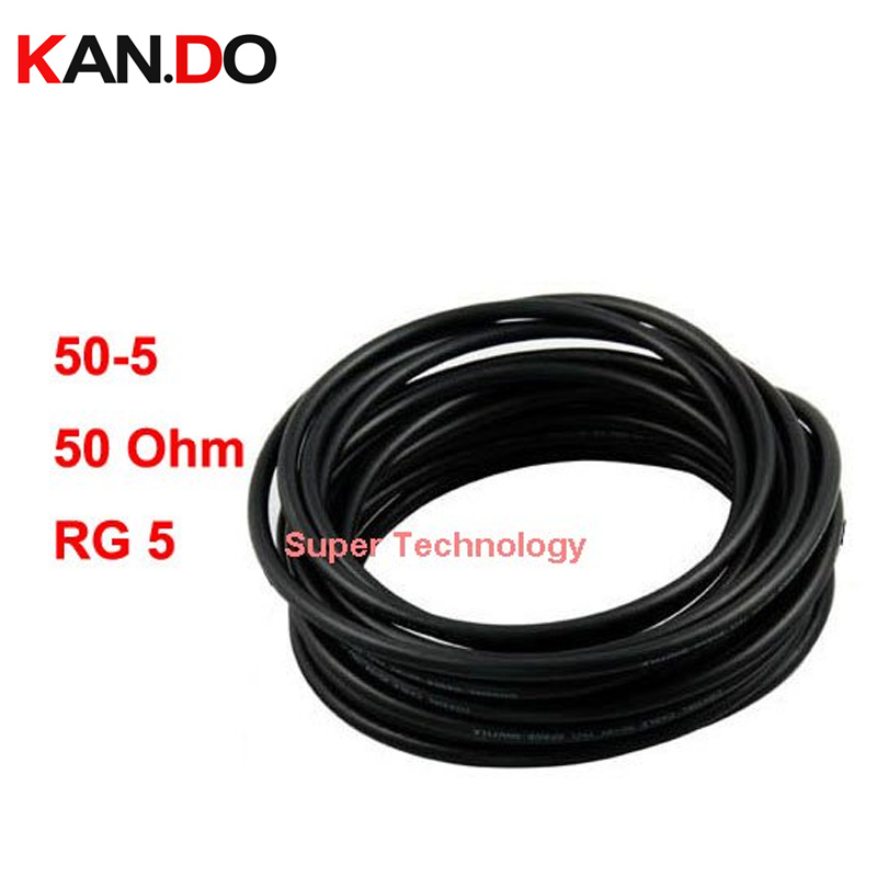 Booster Use Coaxial Cable 50Ohm 15Meters With N Connector Telecom Parts Cable CCTV Camera Use 50-5 Transmission Cable Parts