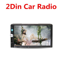 Ai CAR FUN 7010B/7018B/7023D/7155B/7156B/7157B Universal 2 Din Car Radio 7 Bluetooth HD Car Stereo MP5 Players without Camera