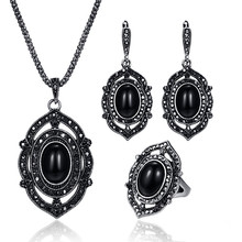 d6ac2815d7 Buy big black stone necklace set and get free shipping on AliExpress.com
