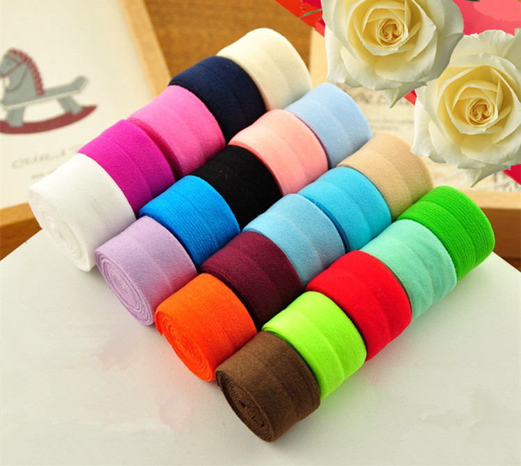 2cm Wide Spandex Webbing Elastic Bias Binding Tapes