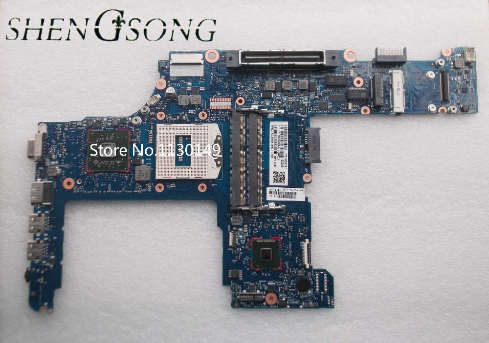 744010-601 744010-501 for HP 640-G1 650-G1 laptop motherboard 744010-001 6050A2566402-MB-A04 QM87 HD8750M mainboard 100% Tested 744009 501 744009 001 for hp probook 640 g1 650 g1 motherboard socket 947 hm87 ddr3l tested working