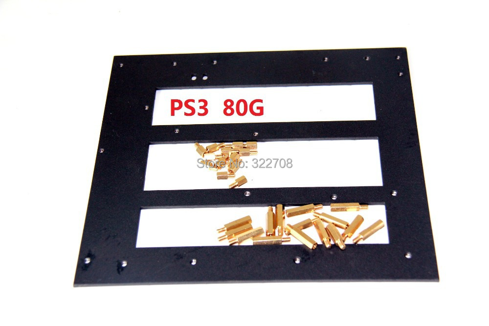 New Spot New Arrival For PS3 Clamp Support jig for PS3 80GB PCB Motherboard best hot selling for ps3 slim jig clamp bracket support for ps3 pcb board free shopping