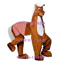 Two Person Funny Horse Mascot Costume Adult Size Professional Custom Donkey Horse Theme Animal Cosplay Costumes Fancy Dress