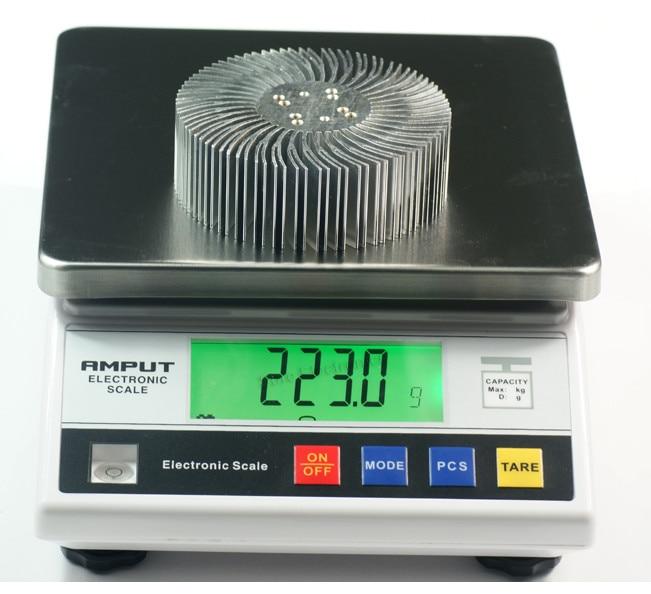 2 STKS 3/5/10 W high-power Zonnebloem circulaire Heatsink LED licht - Computer componenten - Foto 4