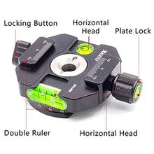 360 Degree Panoramic Quick Release Plate Clamp with 3 Horizontal Beads