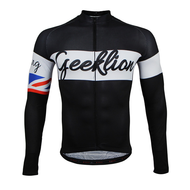 Geeklion Quick Dry Bike Jersey Long Sleeve Summer Spring Men s Cycle Shirt  Road Bike Sport Wear ab1c7caa3