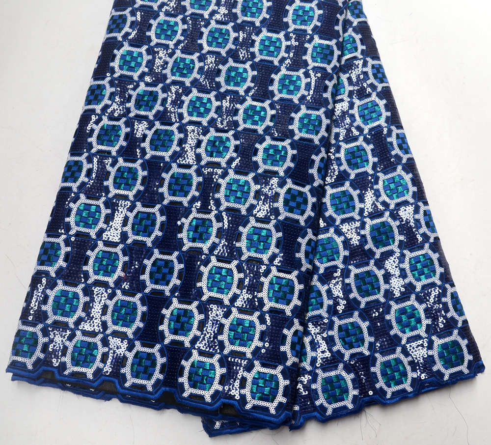 latest High Quality Royal blue handcut Double organze wedding lace fabric traditional Royal blue Handcut organze wedding lace latest High Quality Royal blue handcut Double organze wedding lace fabric traditional Royal blue Handcut organze wedding lace