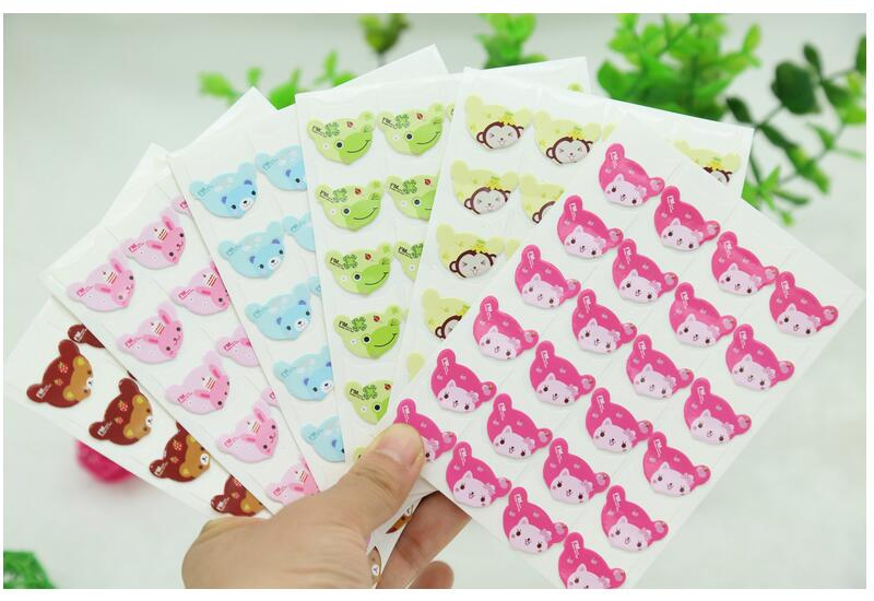hot selling cartoon cute photo corner stickers for diy