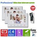 Homefong  Wired 7inch TFT LCD Video Door Phone Doorbell Intercom  Home Security IR Camera Monitor 1V3  Door Release for Lock