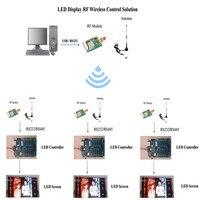 Беспроводной светодиодный дисплей системы 2 км расстояние перемещения знак контроллер 433 мГц Радиотрансивер данных модуль KYL-200L