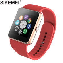 SIKEMEI Smart Watch Bluetooth Smartwatch GT08 Phone Watch Camera Touch Screen Support Pedometer TF SIM Card for Android iOS цена и фото