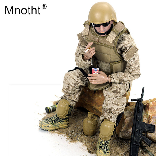 Mnotht 1/6 Action Figure SWAT Uniform Military Army Combat Game Toys special police forces model for 12'' solider dolls toy