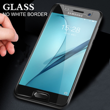 10 Uds de vidrio templado para Samsung Galaxy A3 A5 A6 A7 A8 2016, 2017 de 2018 Protector de pantalla 0,28mm 9H Protector funda de film de vidrio