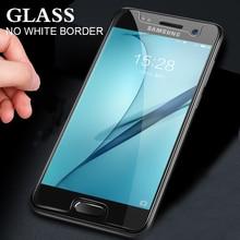 10 cái Tempered Glass Đối Với Samsung Galaxy A3 A5 A6 A7 A8 2016 2017 2018 Bảo Vệ Màn Hình 0.28 mét 9 H Bảo Vệ Film Trường Hợp Thủy Tinh