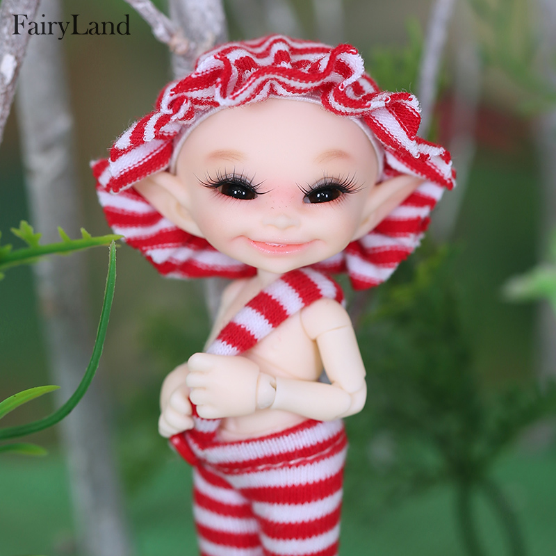 Free Shipping Realpuki soso BJD Dolls 1 13 Long Ears Smile Fun Unique Quirky High Quality