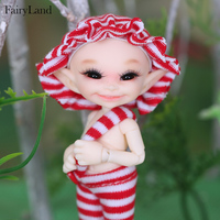 Free Shipping Realpuki soso BJD Dolls 1/13 Long Ears Smile Fun Unique Quirky High Quality Toy For Girls Best Gifts FL Fairyland