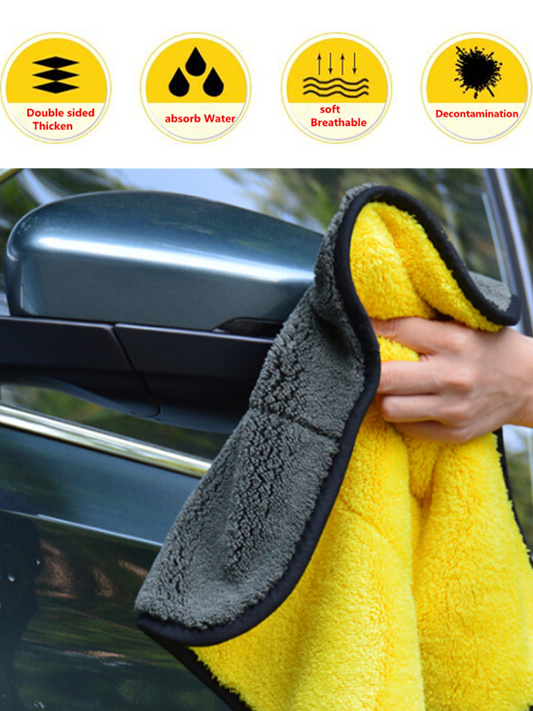 30*30CM HOT High Quality Car Super Absorbent car cleaning Wash towel For BMW 1 2 3 4