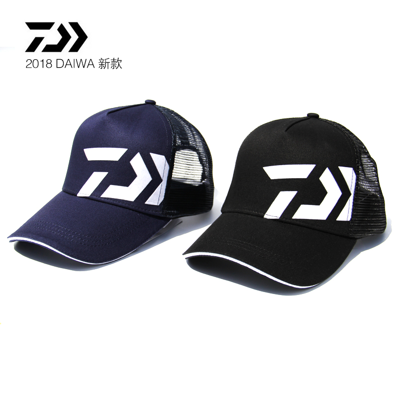2018 NEW DAIWA Fishing summer Sunscreen Breathable cap DAWA Mesh hat sun Anti UV light outdoors