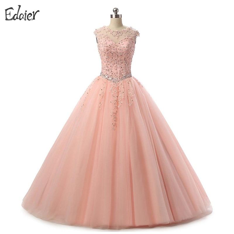 Online Get Cheap Quinceanera Dresses Pink Aliexpress Com
